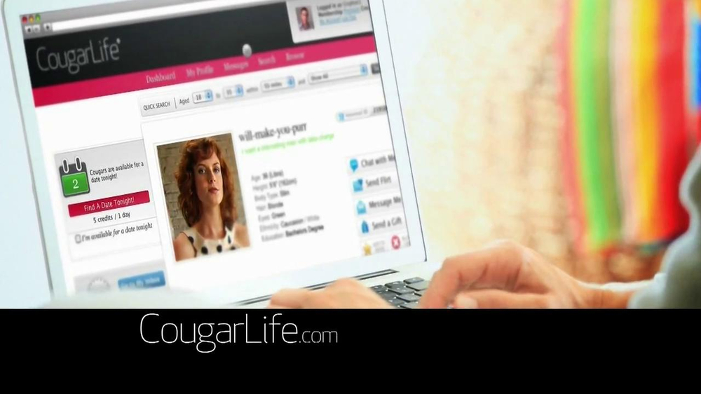 Cougarlife.com TV Spot, 'Cougar Life in the City' - Screenshot 3