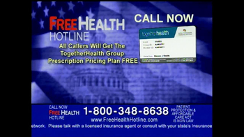 Free Health Hotline TV Spot - Thumbnail 9