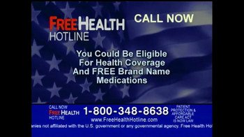 Free Health Hotline TV Spot - Thumbnail 4