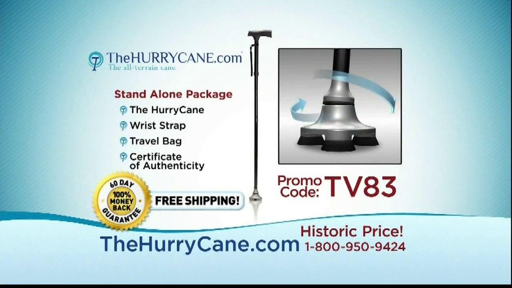 The HurryCane TV Spot, 'Promo Code' - Screenshot 6