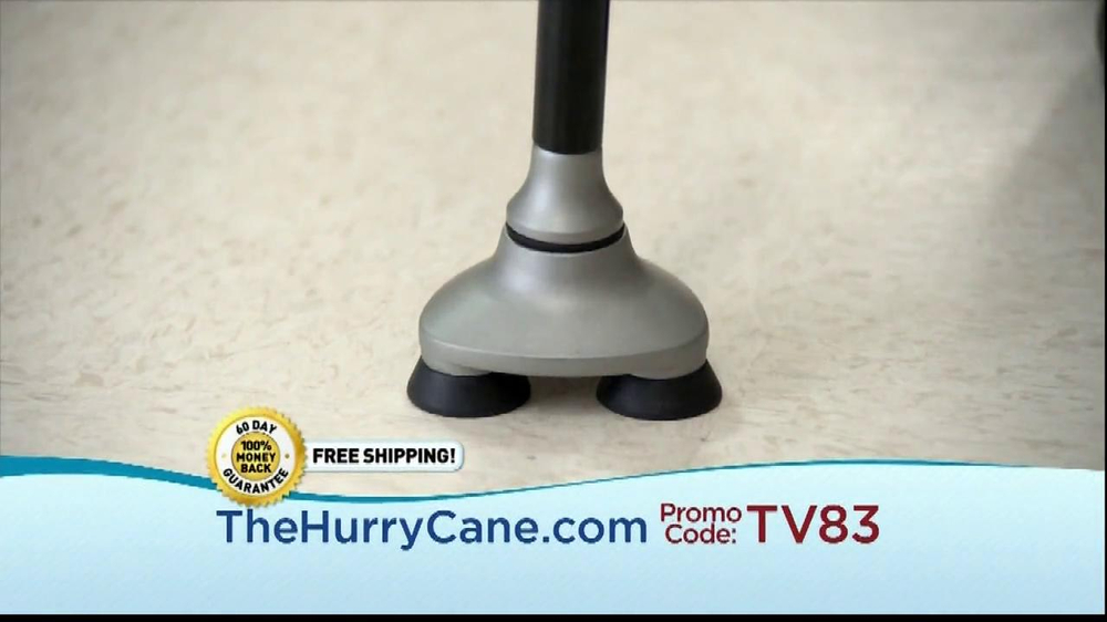 The HurryCane TV Spot, 'Promo Code' - Screenshot 2