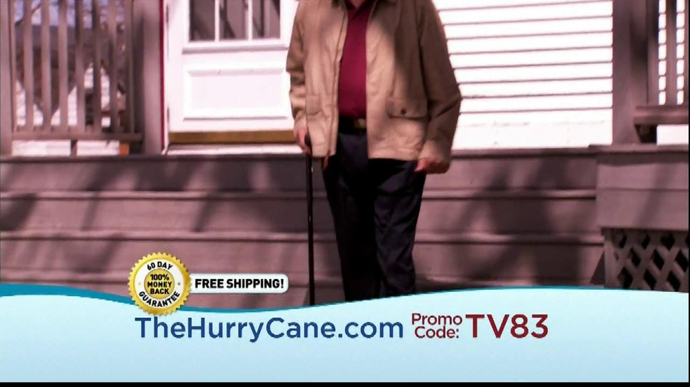 The HurryCane TV Spot, 'Promo Code' - Screenshot 3
