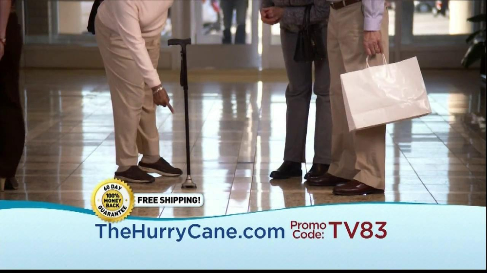 The HurryCane TV Spot, 'Promo Code' - Screenshot 5