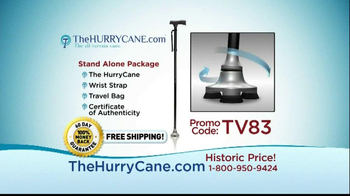 The HurryCane TV Spot, 'Promo Code' - Thumbnail 6
