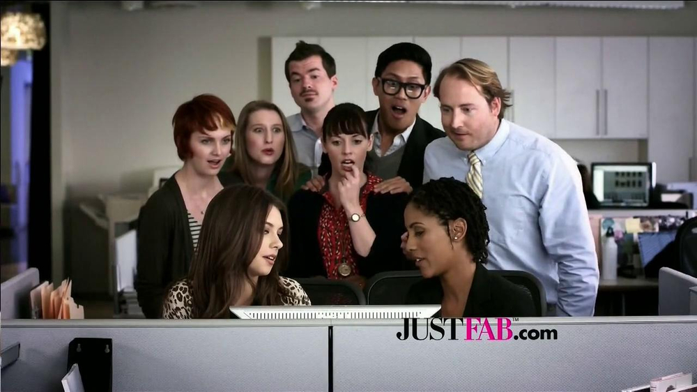 JustFab.com TV Spot, 'Office Excitement' - Screenshot 9