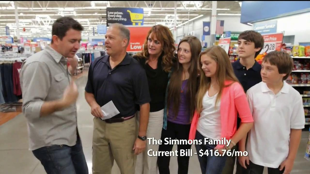 Walmart TV Spot, 'Low Price Gurantee: The Simmons Family'  - Screenshot 3