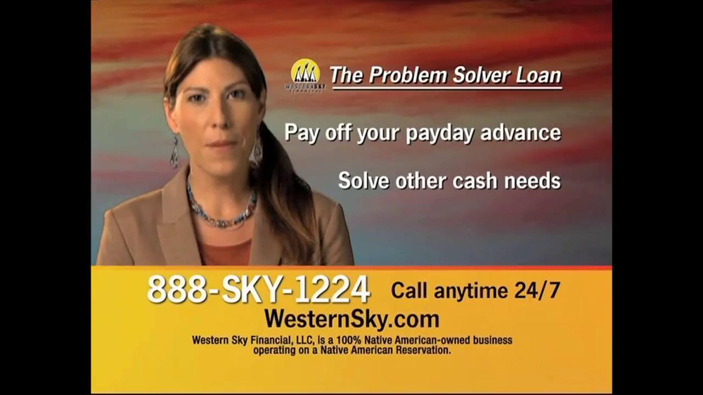 Western Sky Financial Problem Solver Loan TV Spot - Screenshot 2