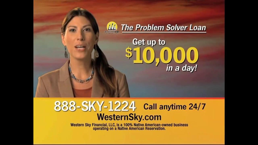 Western Sky Financial Problem Solver Loan TV Spot - Screenshot 4