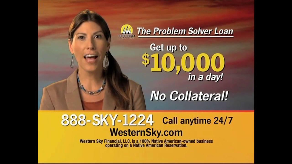 Western Sky Financial Problem Solver Loan TV Spot - Screenshot 5