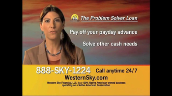 Western Sky Financial Problem Solver Loan TV Spot - Thumbnail 6