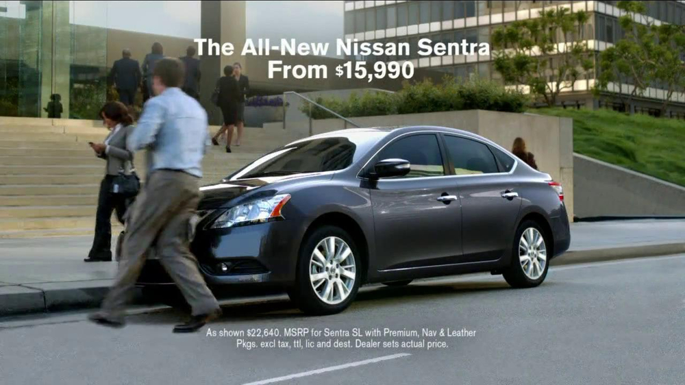 2013 Nissan Sentra TV Spot, 'Who's This' - Screenshot 9