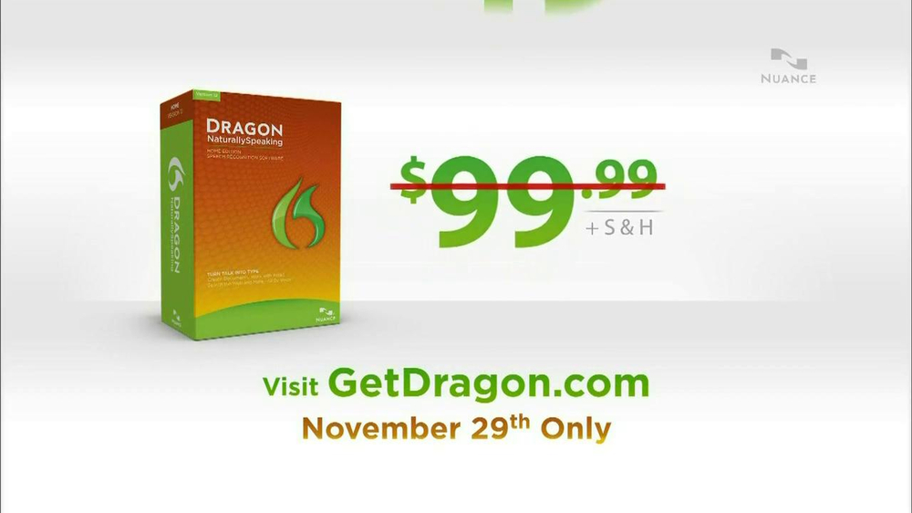 Nuance Dragon TV Spot, 'Amazing Deal' - Screenshot 3