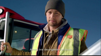 Claritin D TV Spot, 'Snow Plow' - Thumbnail 4