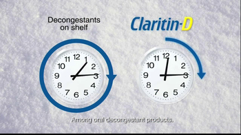 Claritin D TV Spot, 'Snow Plow' - Thumbnail 8