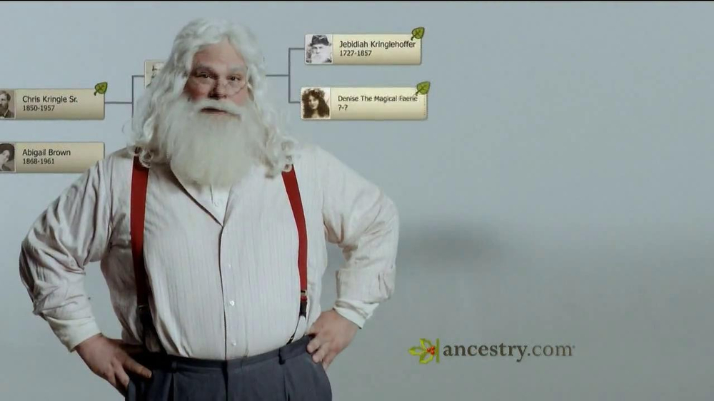 Ancestry.com TV Spot 'Santa & the Tooth Fairy' - Screenshot 2