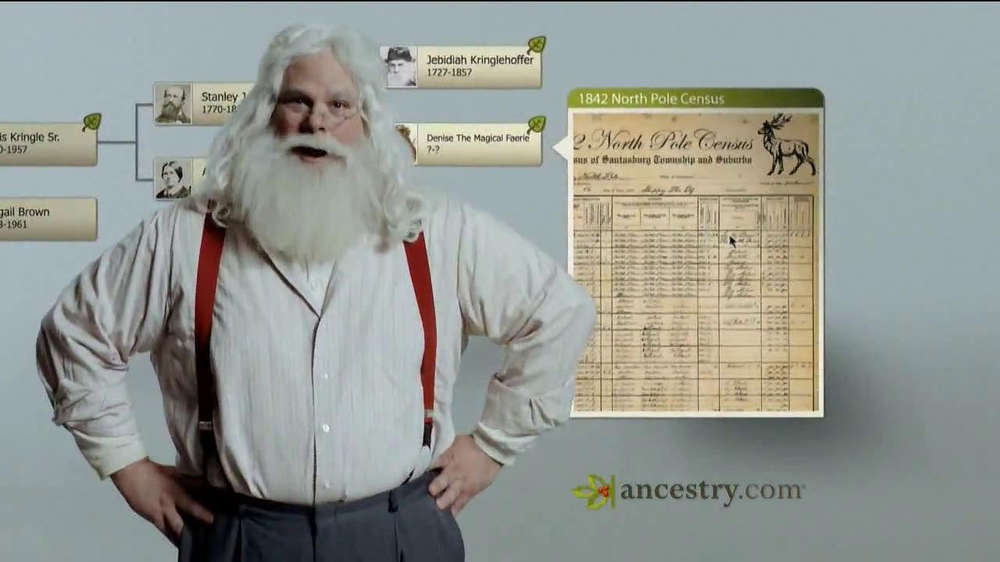 Ancestry.com TV Spot 'Santa & the Tooth Fairy' - Screenshot 3