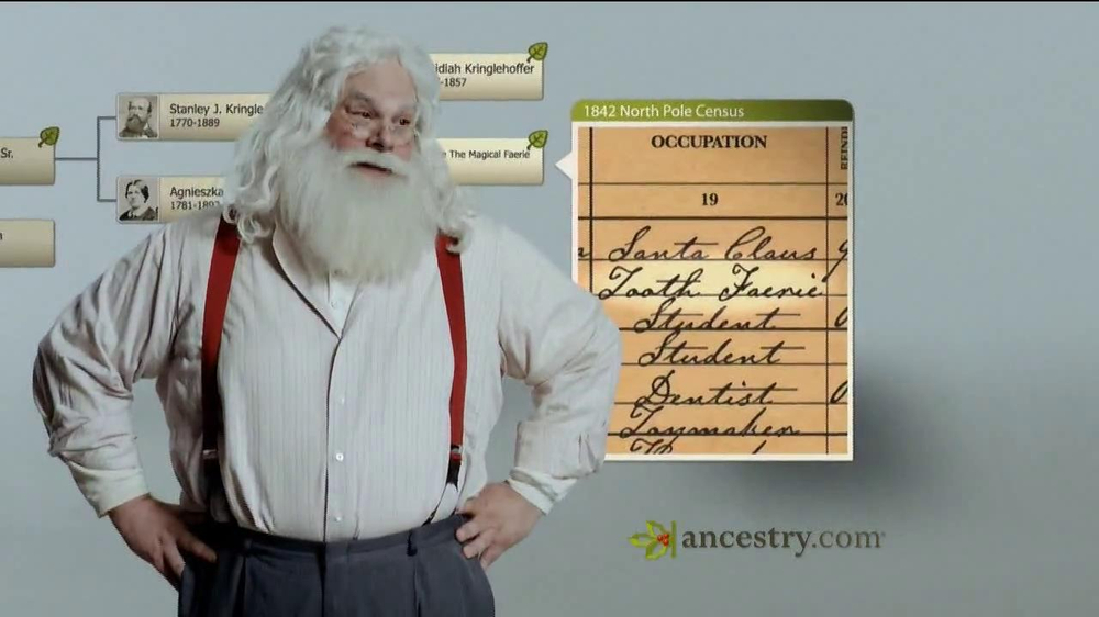 Ancestry.com TV Spot 'Santa & the Tooth Fairy' - Screenshot 4