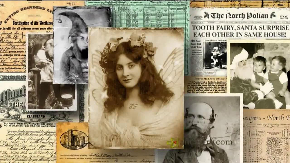 Ancestry.com TV Spot 'Santa & the Tooth Fairy' - Screenshot 7