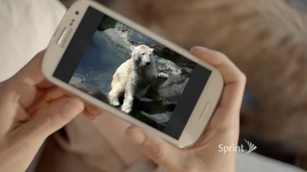 Sprint TV Spot, 'Animals Sing Deck the Halls' - Screenshot 8