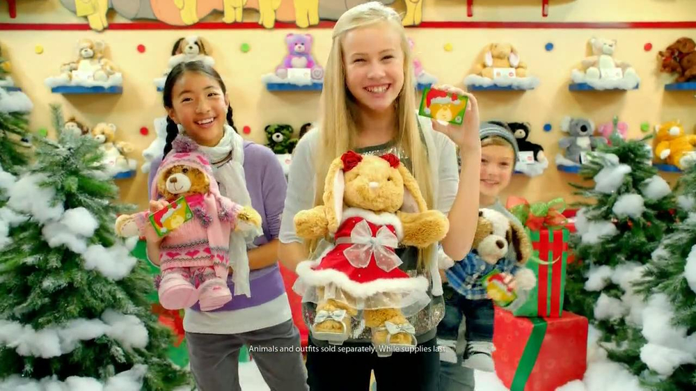 Build A Bear Christmas Commercial