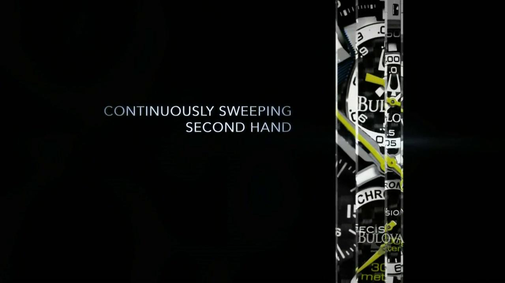 Bulova TV Spot, 'Precision: Watch' - Screenshot 3
