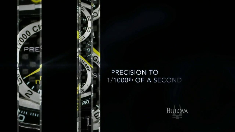 Bulova TV Spot, 'Precision: Watch' - Screenshot 4