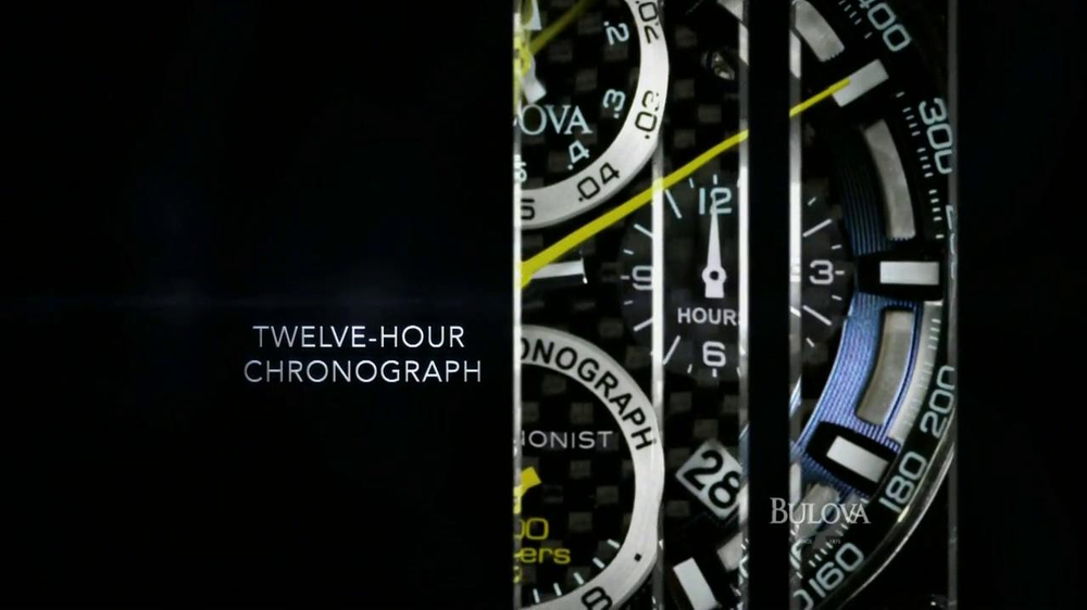 Bulova TV Spot, 'Precision: Watch' - Screenshot 5