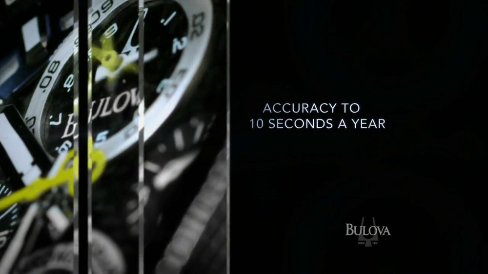 Bulova TV Spot, 'Precision: Watch' - Screenshot 6