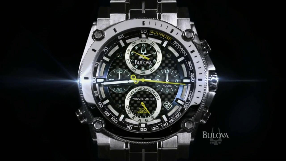Bulova TV Spot, 'Precision: Watch' - Screenshot 8