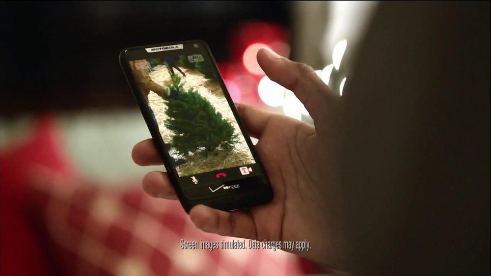 Verizon Share Everything Plan TV Spot, 'Holiday' - Screenshot 1