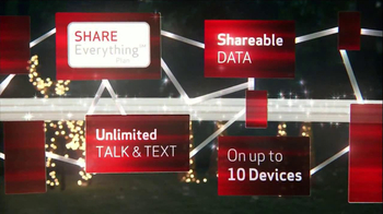 Verizon Share Everything Plan TV Spot, 'Holiday' - Thumbnail 9