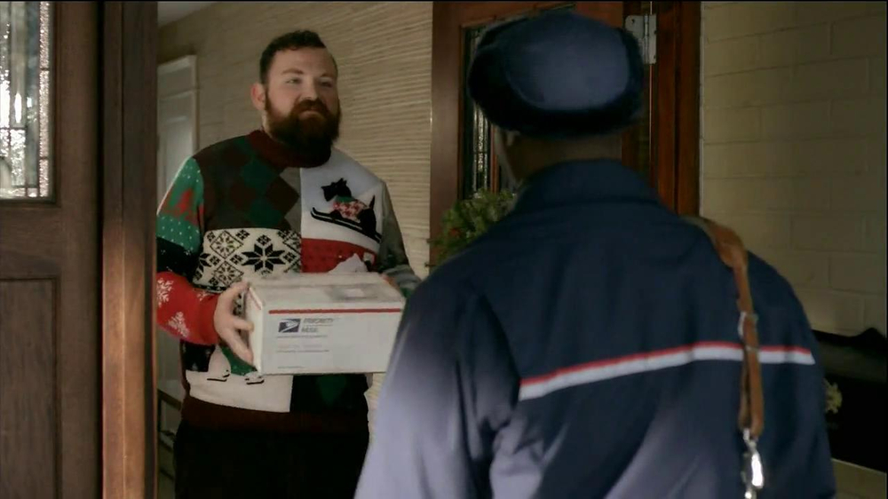 United States Postal Service USPS TV Spot, 'Same Sweater' - Screenshot 6