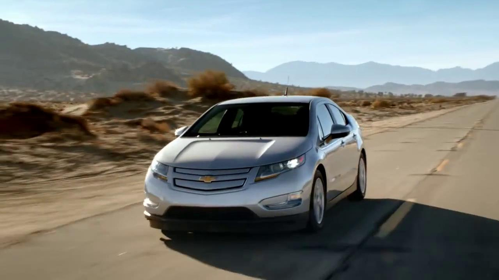 Chevrolet Volt Tv Commercial Is This An Electric Car