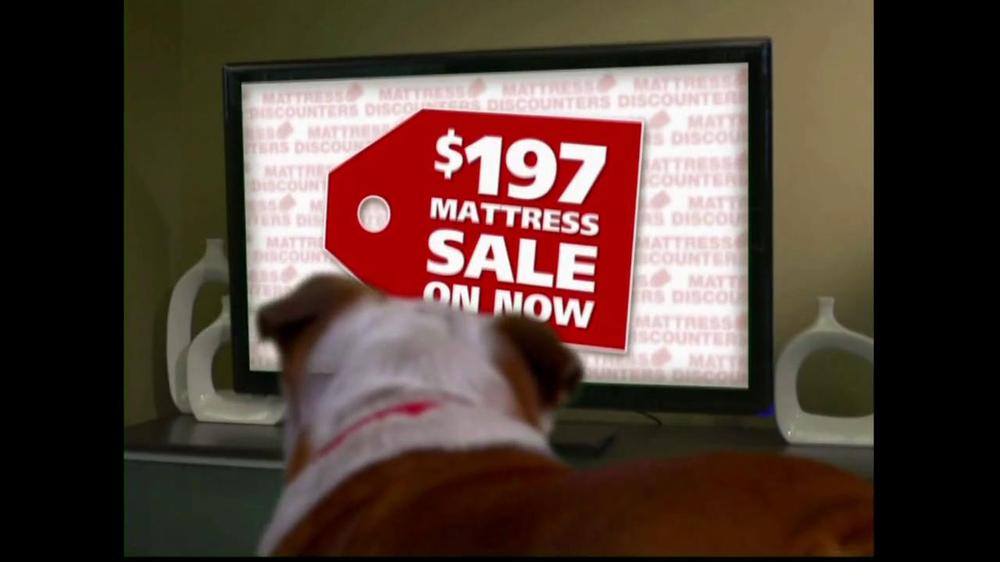 Mattress Discounters $197 Mattress Sale TV mercial