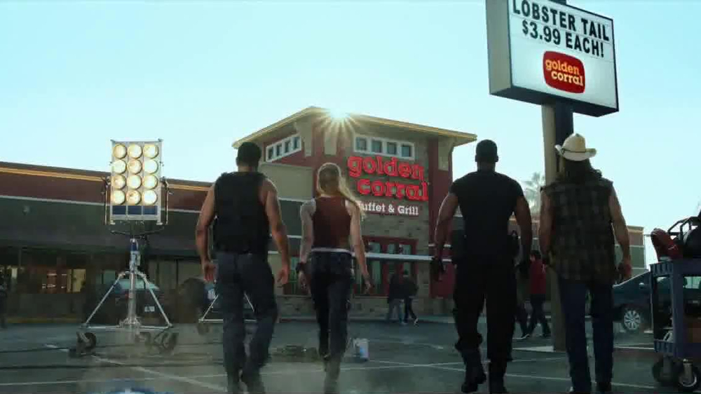 Golden Corral Lobster Tail TV Spot, 'Action Heroes' - Screenshot 6