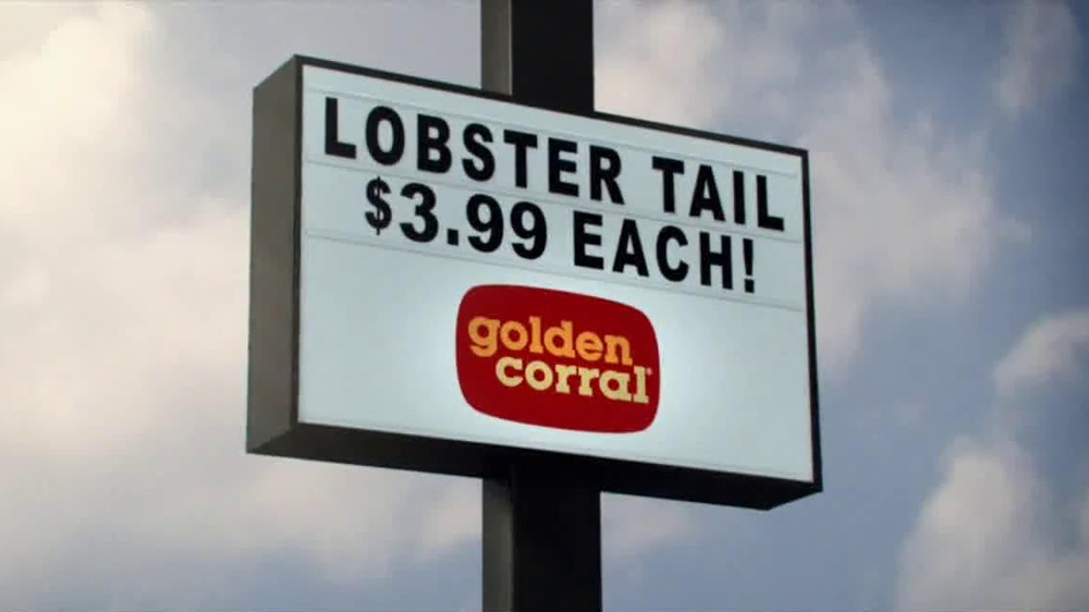 Golden Corral Lobster Tail TV Spot, 'Action Heroes' - Screenshot 7