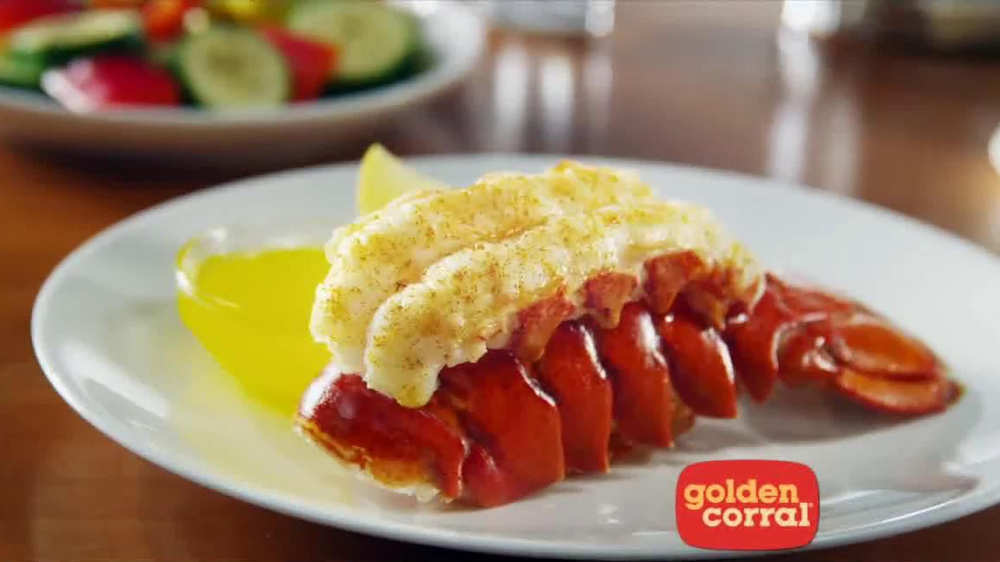 Golden Corral Lobster Tail TV Spot, 'Action Heroes' - Screenshot 8