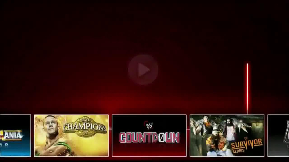 All videos of WWE NETWORK