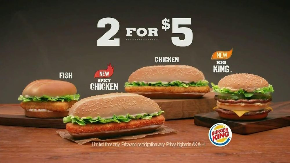 Burger King Big King TV Spot, 'More Beef: Mix and Match'