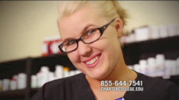 Charter College TV Spot, 'Pharmacy Technician'