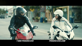 Progressive Motorcycle TV Spot, 'Flo Rides'