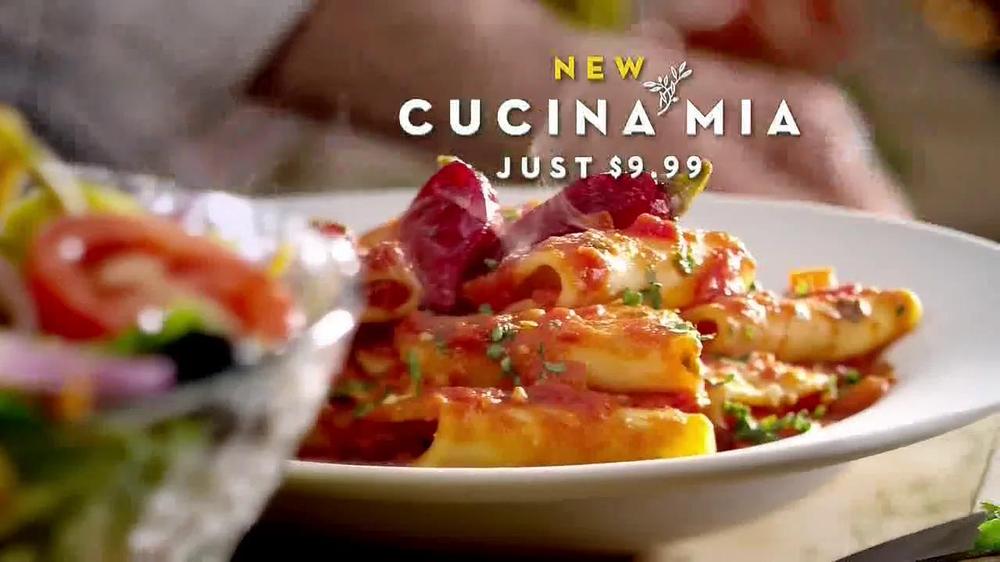 olive garden cucina mia tv commercial