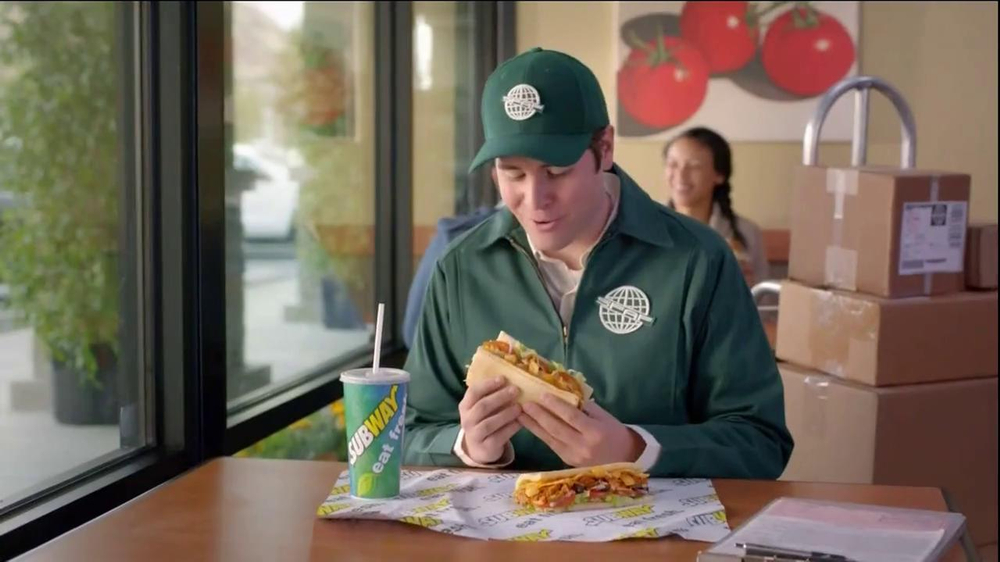 Subway Fritos Chicken Enchilada Melt TV Spot, 'Crunch a Munch a' - Screenshot 1