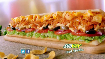 Subway Fritos Chicken Enchilada Melt TV Spot, 'Crunch a Munch a' - Thumbnail 10