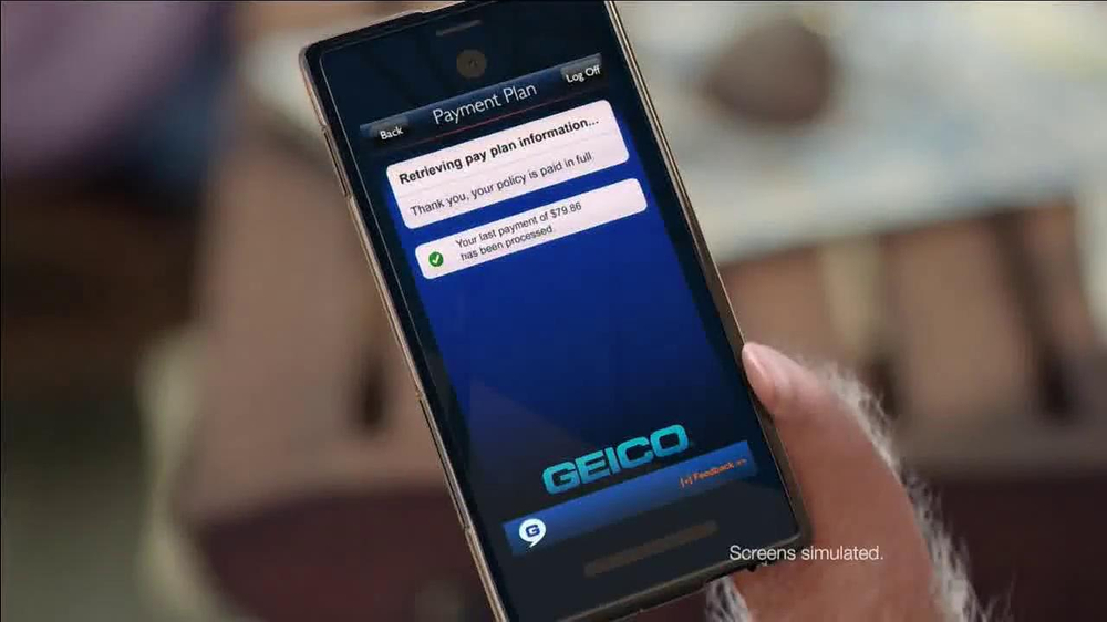 GEICO App TV Spot, 'Boots and Pants' - Screenshot 4
