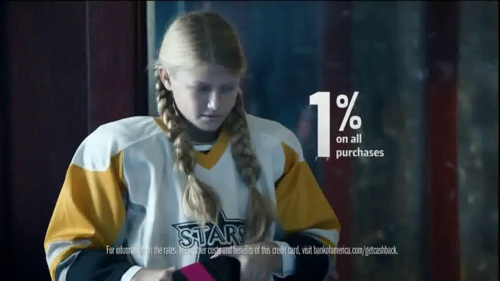 Bank of America Bank Americard TV Spot, 'Ice Time' thumbnail