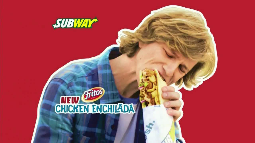 Subway Fritos Chicken Enchilada Melt TV Spot, 'Crunch a Munch' - Screenshot 2
