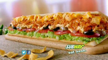 Subway Fritos Chicken Enchilada Melt TV Spot, 'Crunch a Munch' - Thumbnail 10