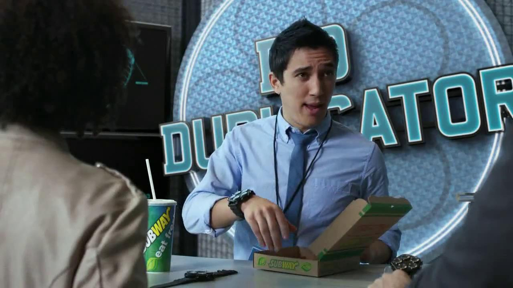 Subway Flatizza TV Spot, 'Bio Duplicator' - Screenshot 5