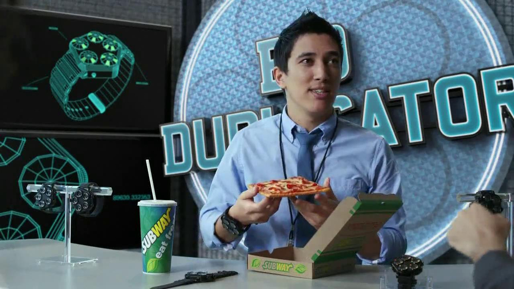 Subway Flatizza TV Spot, 'Bio Duplicator' - Screenshot 8
